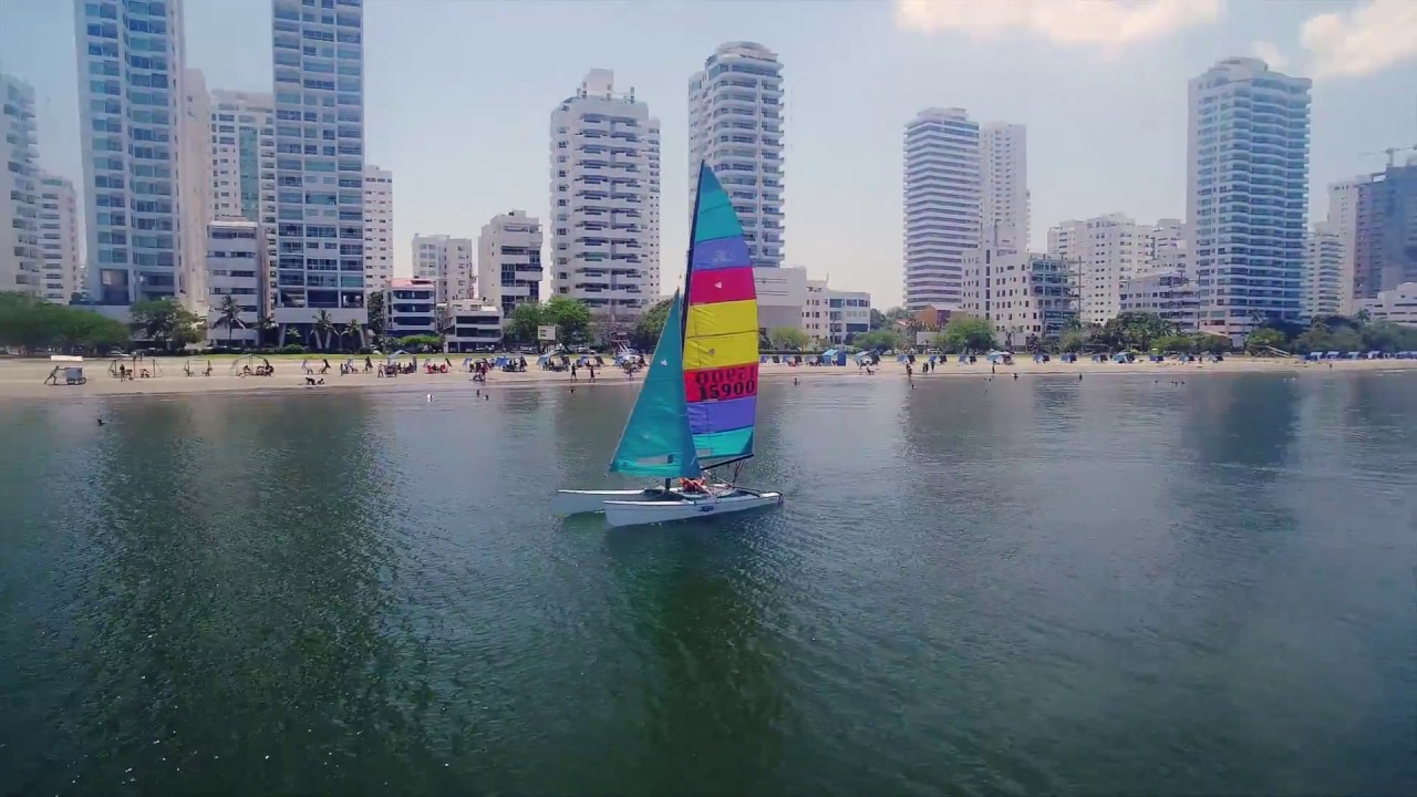 Sailing the Cartagena Bay - While in Cartagena Colombia
